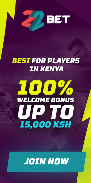 22bet for players in Kenya